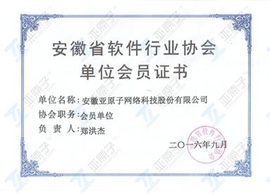 安徽省软件协会会员