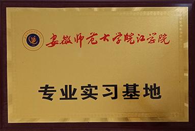 安徽师范大学皖江学院实习实训单位